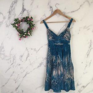 Lil Anthropologie Caballo Falls Silk Dress